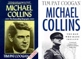 Michael Collins: Irish/British edition (left), US edition (right)
